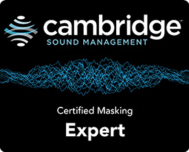 Cambridge Sound Management Certified Masking Expert